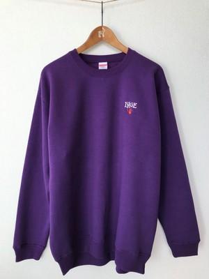 「vero」スウェット (Purple) ※XLサイズのみ