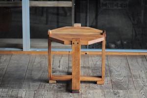 【ゐ】八角形 椅子 スツール 花台 サイドテーブル