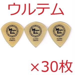 ULTEM (ウルテム) JAZZ XL ジャズ型 ピック 【×30枚】送料込み 1700円