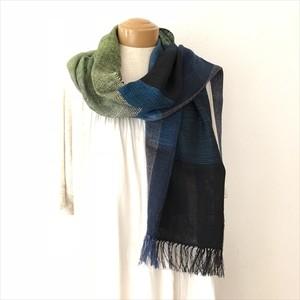 ◆手織りストール  シルクとリネン ◆