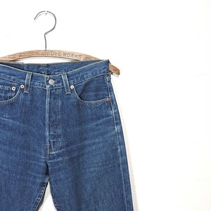 【ladies】Levi's501 denim pants made in usa w:28