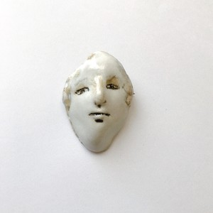 brooch「FACE」 #004