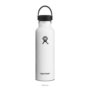 【Hydro Flask】HYDRATION 21 oz Standard Mouth - White