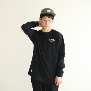 NA Logo Long Sleeve TEE Shirts (Black)