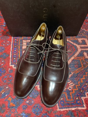 .GUCCI LEATHER STITCH SHOES MADE IN ITALY/グッチレザーステッチシューズ 2000000047157
