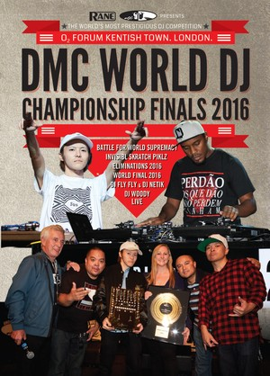 DMC WORLD DJ CHAMPIONSHIP 2016 DVD - SPECIAL PRICE