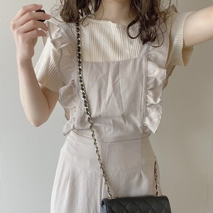 frill overalls[4/19n-15]
