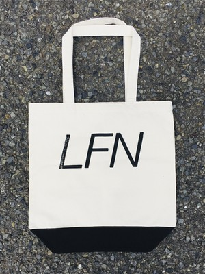 LFN Tote Bag (WHITE×BLACK)