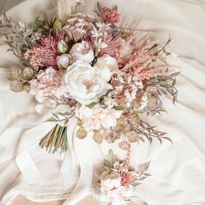 Nuance flower Bouquet&Boutonniere