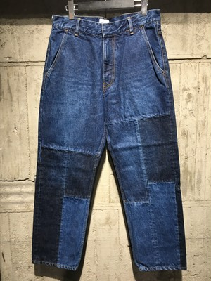 【EFILEVOL】Patchwork Denim PT