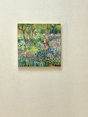 素敵なアートパネル 300mm角 ジヴェルニー芸術家の庭 クロード・モネ