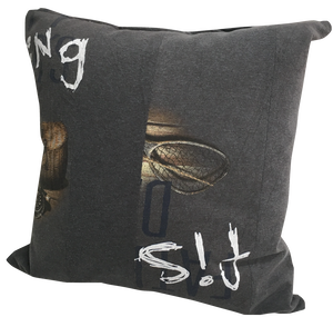 """CUSHION COVER """"OLD FISHING"""""""