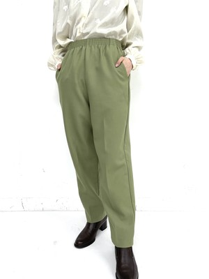 earth color tapered pants / 2SSPT28-20