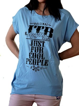 【JTB】 TASCHE Tシャツ【スカイ】【新作】イタリアンウェア【送料無料】《M&W》