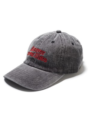 BAL FNM DENIM LOW CROWN 6 PANEL CAP