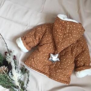 Star pattern coat
