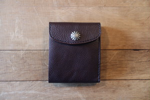 """Heritage"" Short Wallet ショートウォレット Brown"