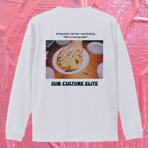 """SUB CULTURE ELITE"" long-sleeve tee"