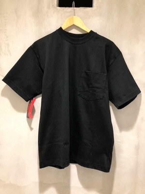 CAMBER-MAX-WEIGHT POCKET S/S TEE - black