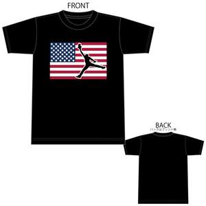 USA ジョーダン 国旗 星条旗 B4° ビヨンド Tシャツ TEE 半袖 半袖Tシャツ プリントスター 5.6OZ ヘビーウェイト 1602