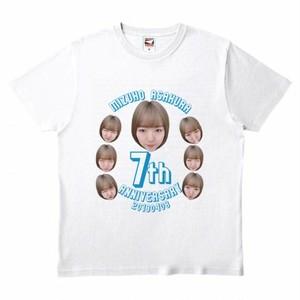 朝倉みずほアイドルデビュー7周年記念Tシャツ