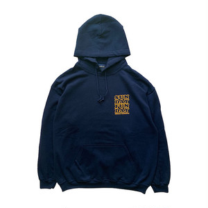 SUNDAY FUNDAY PULL HOODIE navy
