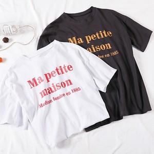 2カラーロゴTシャツ 1552