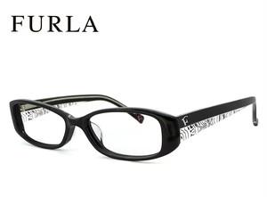 フルラ メガネ FURLA VU4785j-700 眼鏡 ジャパンフィット モデル ブラック レディース 女性用