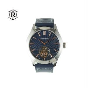 JOHNNYROGER メンズ 腕時計 フライングトゥールビヨン Tourbillon Jigen