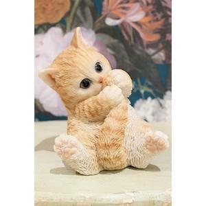 アメリカンショートヘアネコオブジェ  猫置物 ネコ雑貨/浜松雑貨屋C0pernicus