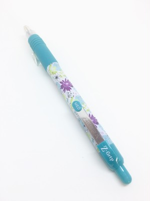 ZEBRA Z-Grip Floral SkyBlue