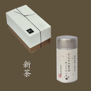 八十八夜の茶ティーバッグ 大缶1本箱