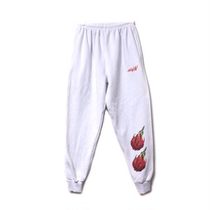【MaryJaneNite】DRAGON FRUIT SWEATPANTS white