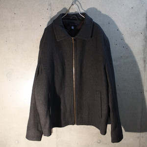 Zip Up Wool Jakcet