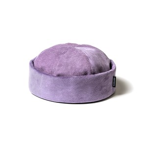 TIGHTBOOTH SUEDE ROLL CAP PURPLE M
