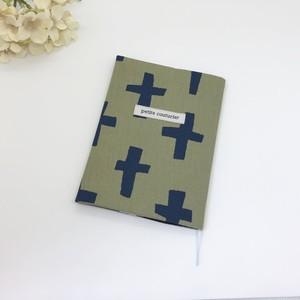 布のブックカバー*文庫用*NO.651*8319