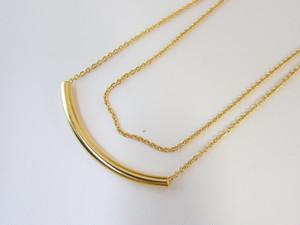 (IKUO)gold 2way ネックレス