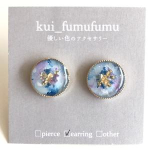 kui_fumufumu レジンピアス / イヤリング KF-062