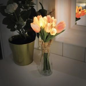 tulip flower  bouquet LED light 4colors / チューリップ ライト 韓国雑貨