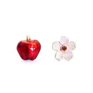 【ピアス】花りんご『君にあげる』