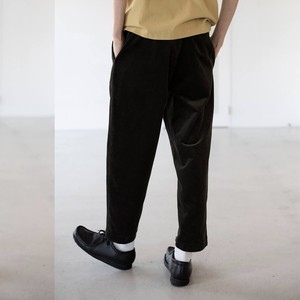 wide wale corduroy trousers | unfil