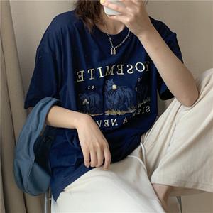 ベアプリントTシャツ