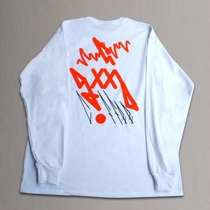 hug a good coffeeTシャツ_color_WH(design by OKI KENICHI)