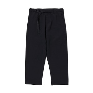 OX DARTED PANTS - BLACK