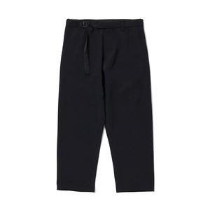 OX DARTED PANTS - BLACK