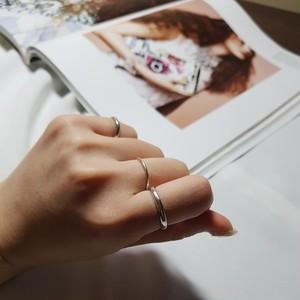 即納 送料無料 リング 指輪 シルバー925 silver925 人気 韓国ファッション パーティーアクセサリー オルチャン シンプル 2点セット 結婚式 二次会 パーティー juju-r0002