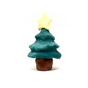 てづくりねんど クリスマスツリーさん