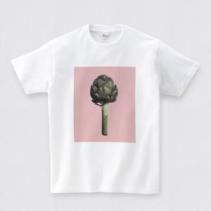 Original Tshirt Carciofo romanesco ロマネスコTシャツ