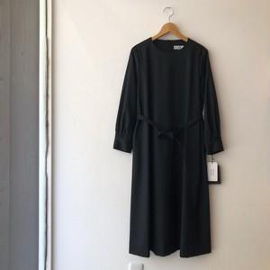 atelier naruse ブラックフォーマルAラインワンピースドレス 38