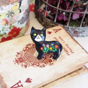 sale!!黒猫のブローチ